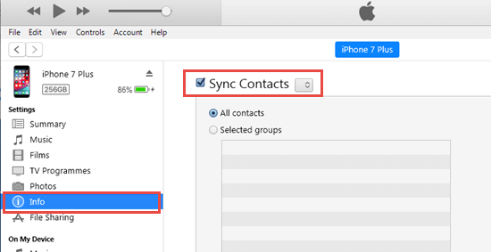 Import Contacts from iPhone to Mac Using iTunes or Finder