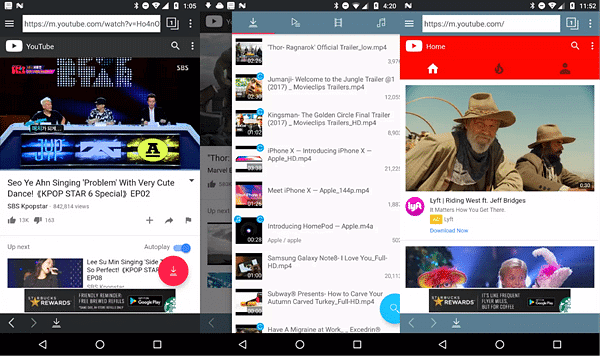 TubeMate is maybe the best YouTube downloader app for Android.
