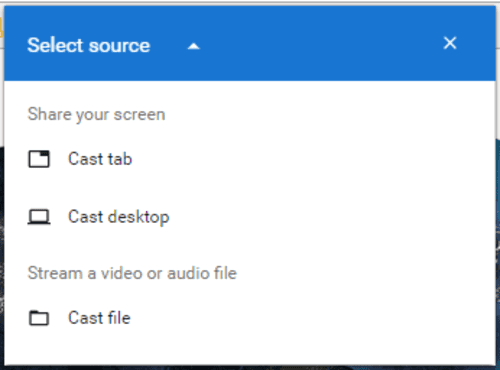 VLC Chromecast Support on Android
