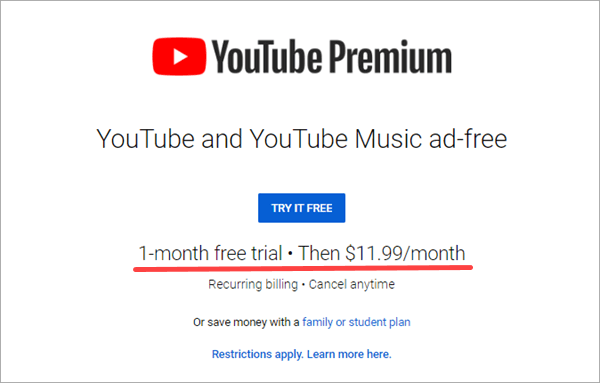 A good way to deal with this problem is to enroll in YouTube Premium.