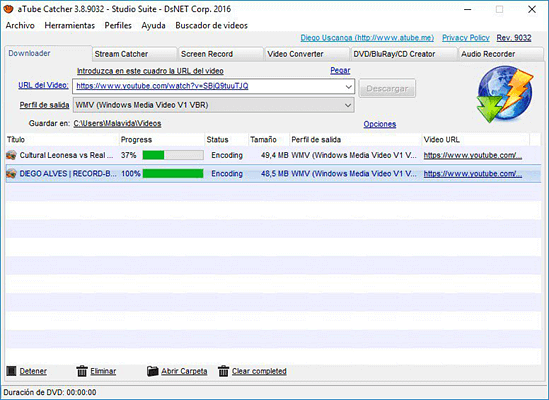 aTube Catcher is a simple but practical YouTube video downloader.