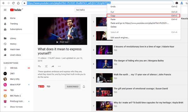 How to Download Ted Talks from YouTube or Its Website