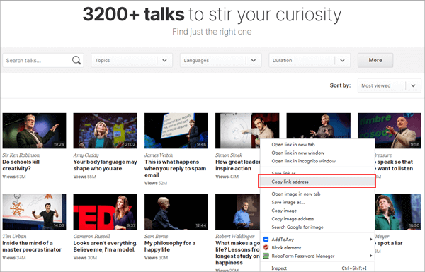 How to Download TED Talks as Audio