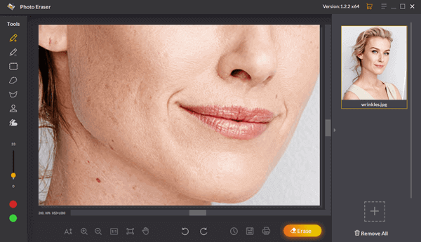Process To Remove Wrinkles From Photos