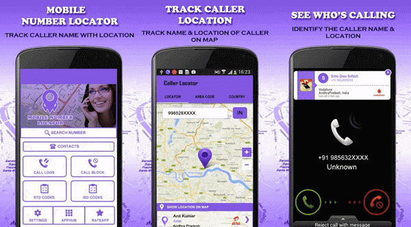 Mobile Number Locator can also be used as a mobile number identifier