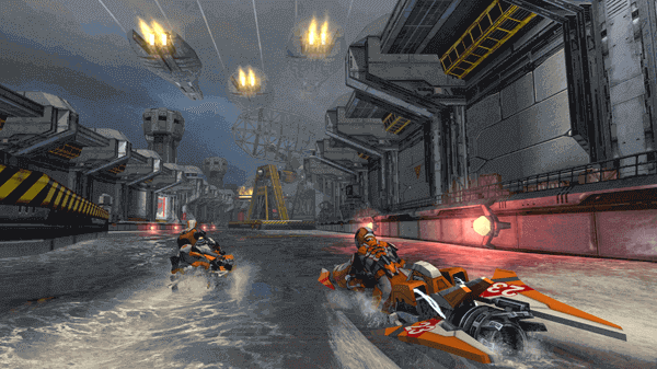 Riptide GP: Renegade is the best racing game which has no in-app purchases.