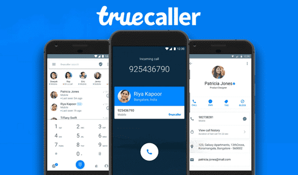 Using Truecaller to trace the location as well as other information related to any phone number.
