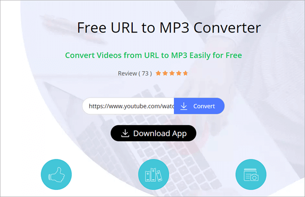 AceThinker is an online URL to MP3 converter.