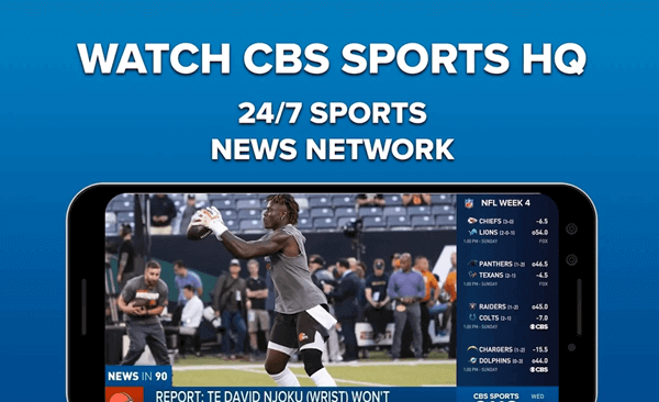 CBS Sports is a highly advanced sports streaming application that is freely accessible to all Android and iOS users.