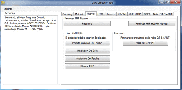 D&G FRP Bypass Tool is one of the simple and useful FRP bypass tools available in the market.