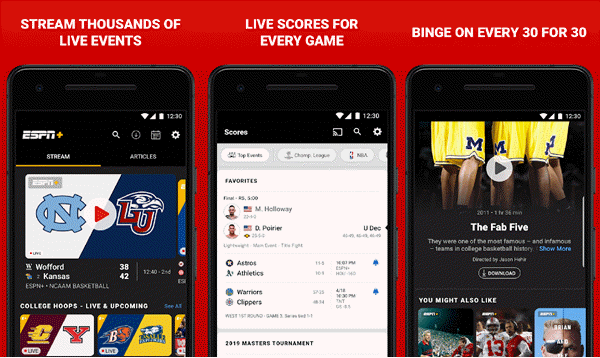 11 Best Free Sports Streaming Apps For Android In 2020