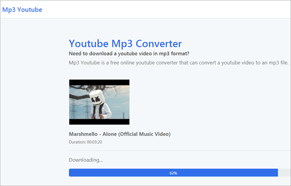 MP3 YouTube is a free online YouTube to mp3 converter.