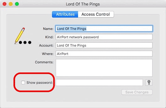 Use iCloud Keychain Sync to Show WiFi Password