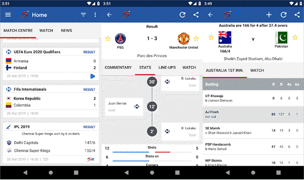 free sports streaming apps for android