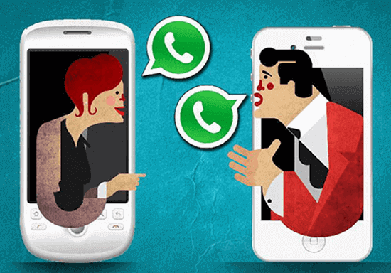 Transfer WhatsApp Messages from Android to iPhone.
