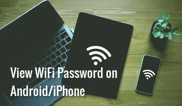 View Saved WiFi Password on Android and iPhone Mobile.