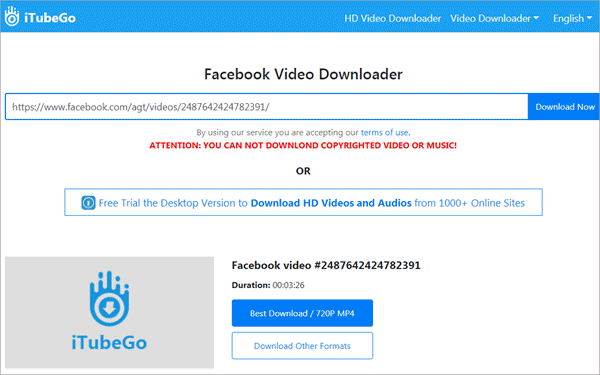 KeepVid.Pro is a famous online video downloader.