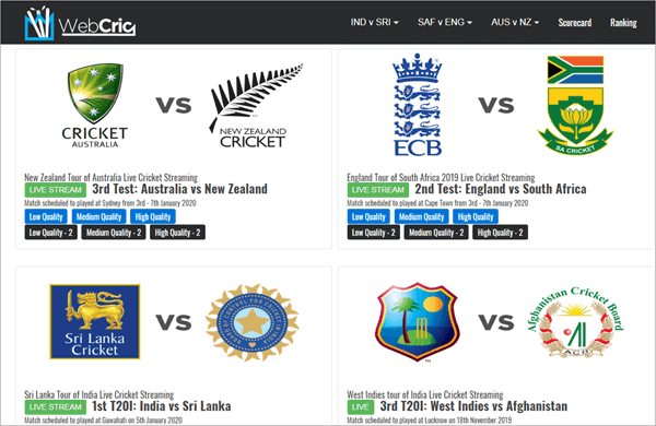 This is an awesome website for all enthusiastic cricket fans from all around the world.