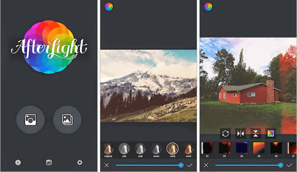 Afterlight is an amazing Instagram photo editor that comes with dozens of attractive and appealing filters.