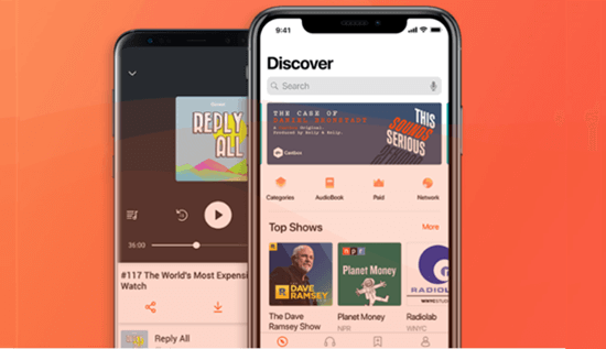 Castbox is one of the best all-in-one podcast apps for iOS and Android