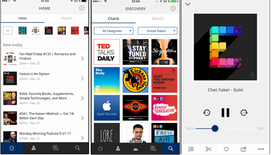 Procast claims to be a new generation of podcast apps, and it certainly seems to be.