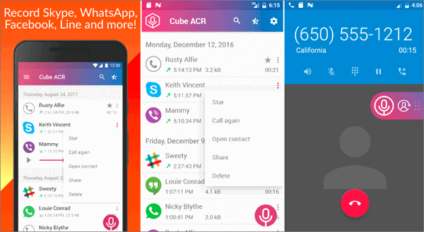 This totally free recorder app is an all-in-one call recorder.