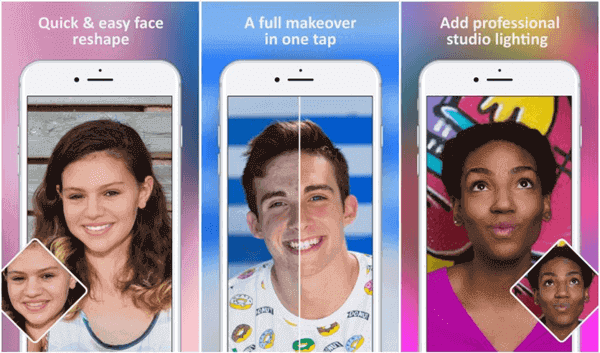 Facetune is an editing app that allows you to fine-tune many aspects of your face.