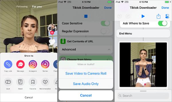 Use Siri ShortCuts on iPhone/iPad.