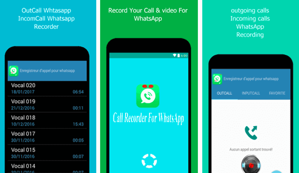 This Call Recorder for WhatsApp is a quite simple yet efficient app.