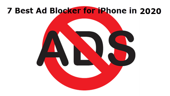 Best Ad blocker for iPhone.