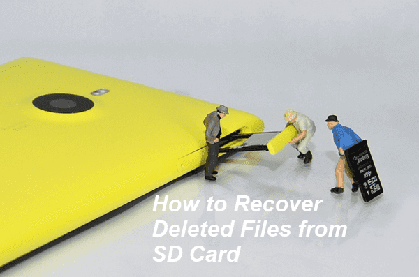 Restore Data from SD Card.