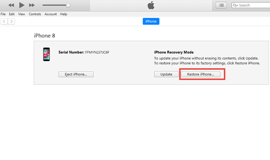 Unlock Disabled iPhone with iTunes (without iCloud)