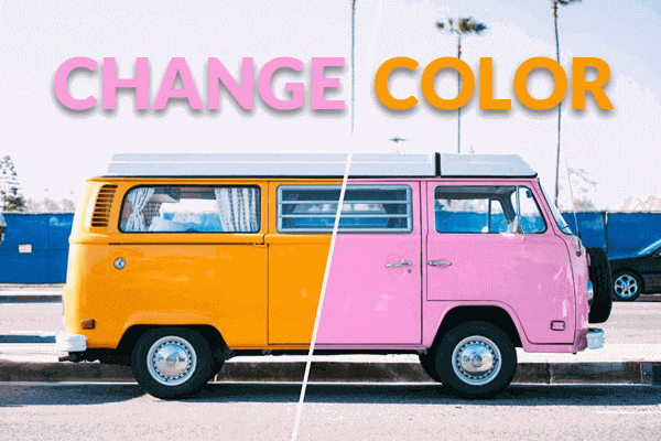 Change and Replace Photo Colors.