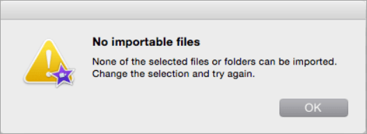 Can't Import MP4/MOV Videos into Final Cut Pro X