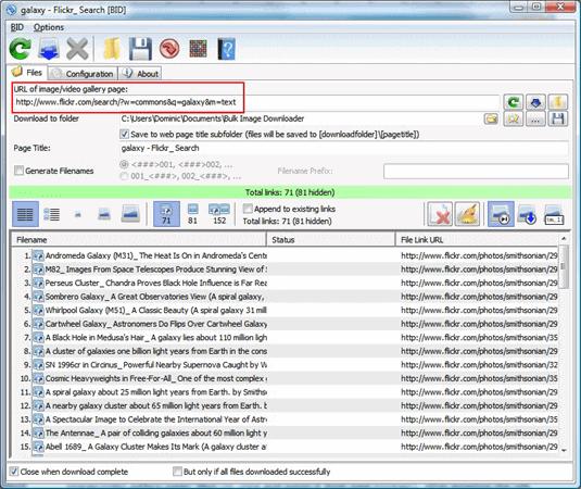 Bulk Image Downloader is one of the best batch image downloader tools.