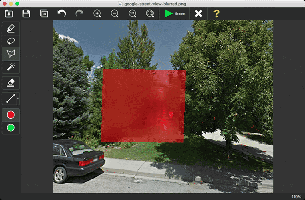 Inpaint is another photo censored photo editor similar to Jihosoft Photo Eraser.
