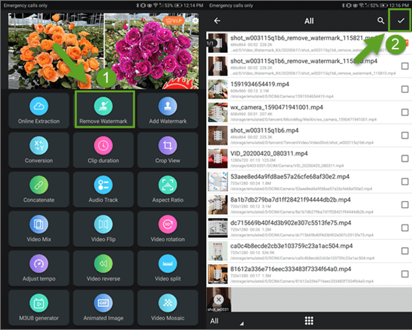 Video Watermark Kit is a powerful video editing app for Android.