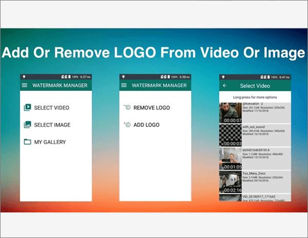 Remove logo from video (apk) - Remove &Add Watermark