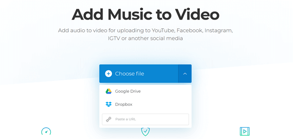 How to add music to video online [free]?