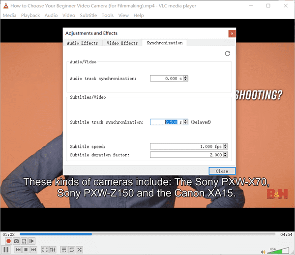 How to Adjust Subtitle Timing in VLC