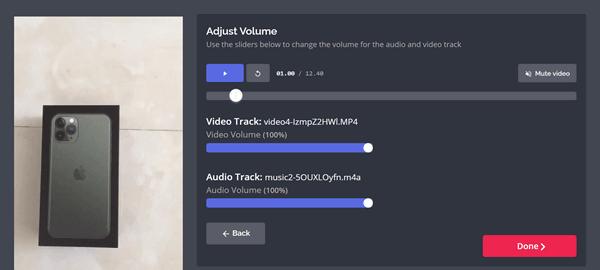 How to add audio to MP4, AVI, MKV, MOV, FLV file online?