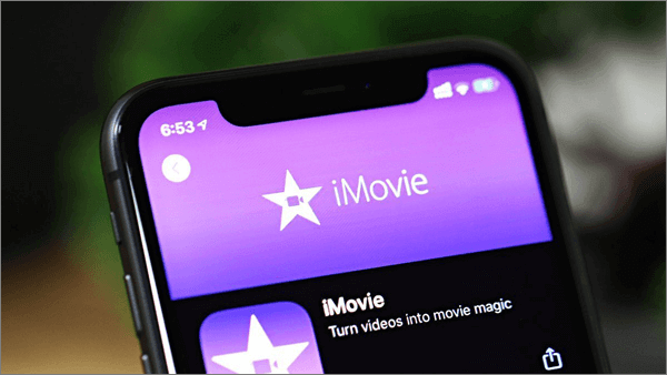 iMovie is a powerful video editor launched by Apple.