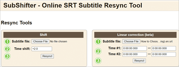 How to Sync Subtitle with Online Tool
