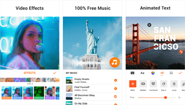 YouCut is launched to help you create stunning music videos for YouTube and other social media.