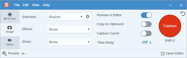 How to Take Screenshot with Screen Capture Tool