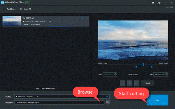 Jihosoft Video Editor is a multifunctional software with almost all basic video editing features like cutting, joining, rotating, reversing, speed control, adding music, removing video sound, adding subtitles, etc.