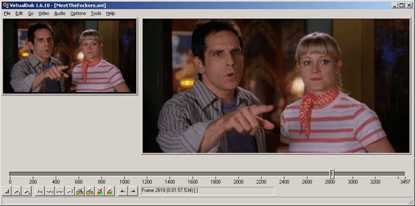 VirtualDub is free video editing software designed for fast linear operations.