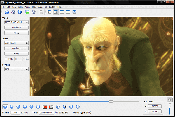 Avidemux is a free video editing suite launched to perform simple video processing tasks
