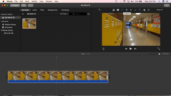 iMovie is a free application launched by Apple for Mac users.